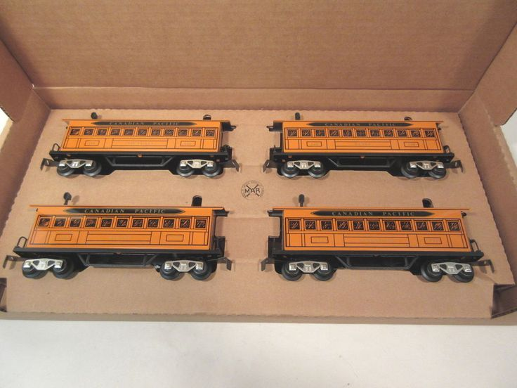 MARX TRAINS 5192X ORANGE CAN PACIFIC CARS O-GAUGE #X8086