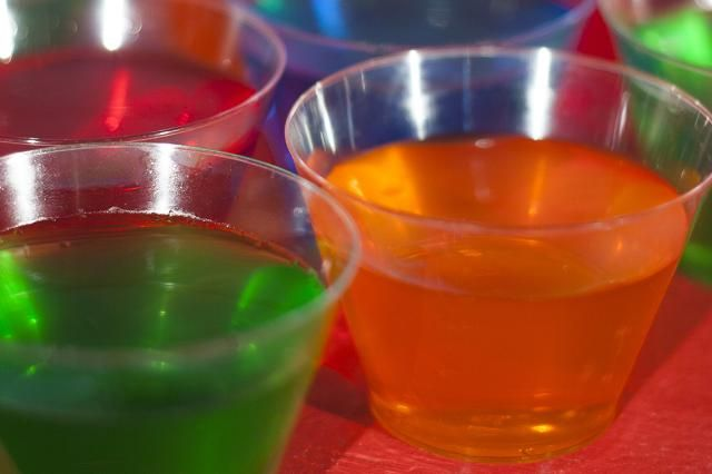Shooter recipe for a Margarita Jelly Shot, a popular party shot that is a mix of a Jell-O shot and a Margarita.