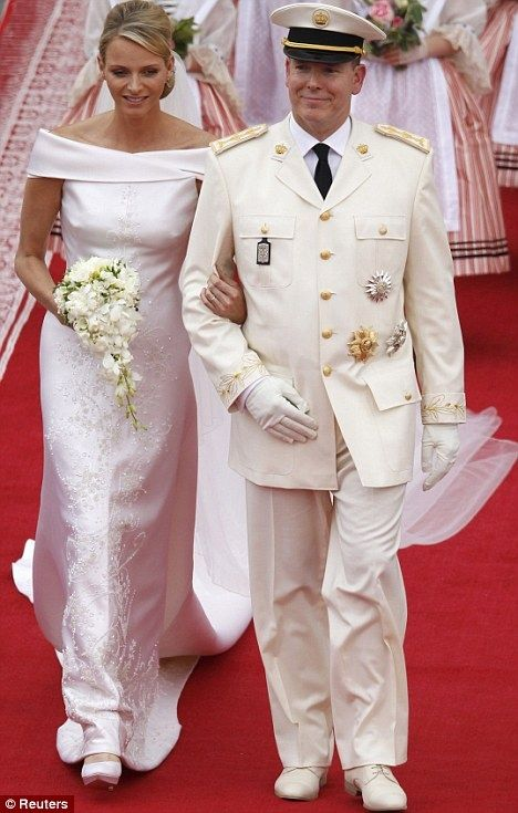 661 best images about Royal Wedding of Prince Albert II Of ...