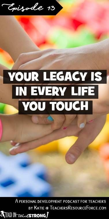 As teachers, we do so much more than just teach content. We care, we listen, we connect, we help and we make an impact on our students. How do you want your students to feel and what stories do you want your students to say about you? Listen to today's episode to pick up some practical tips on how you can leave a lasting and powerful legacy.