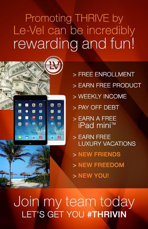 Being a Le-Vel promoter is AMAZING! So many bonuses and