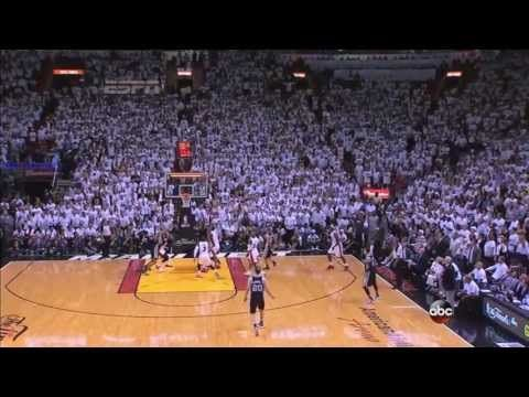 Tony Parker incredible clutch shot at end of Heat-Spurs Game 1