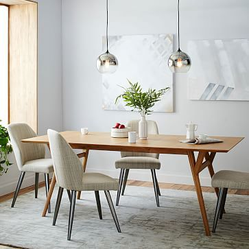 Mid-Century Expandable Dining Table $419-799 on sale #westelm