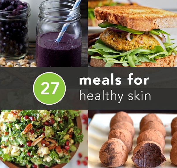 27 Meals for Healthy Skin