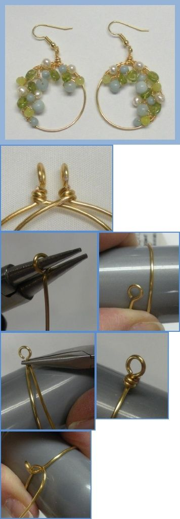 Pandahall.com offers you jewelry  making ideas and easy picture instruction to help you to finish this special earrings
