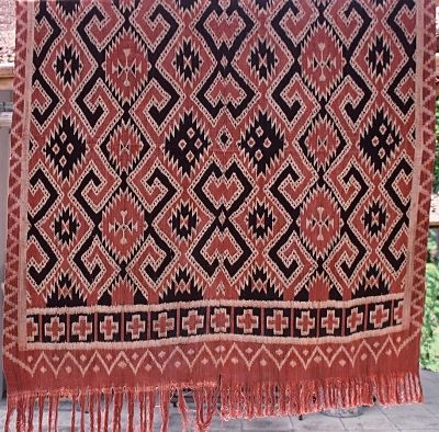pusaka collection of indonesian Ikat; this one from Toraja, Sulawesi, Indonesia