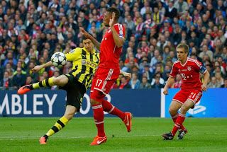Hasil Pertandingan Liga jerman Dortmund vs Munchen,Gotze Cetak 1 Gol