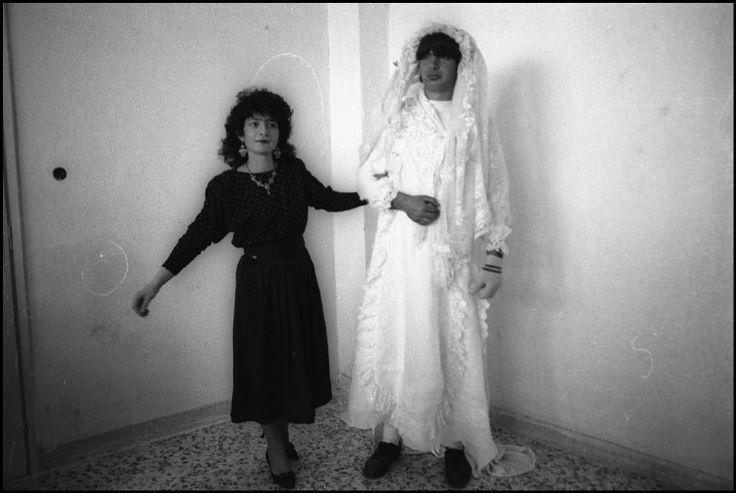Nikos Economopoulos. Peloponnese, Krokees. Carnival. 1989.