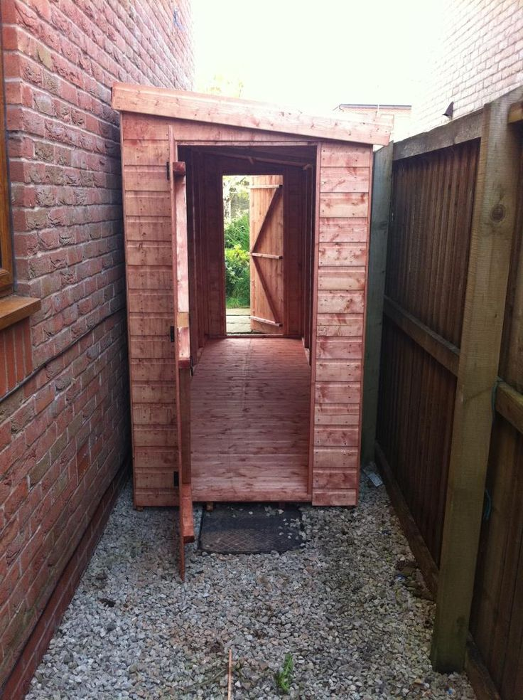 The 25 best ideas about lean to shed on pinterest to for Small garden shelter