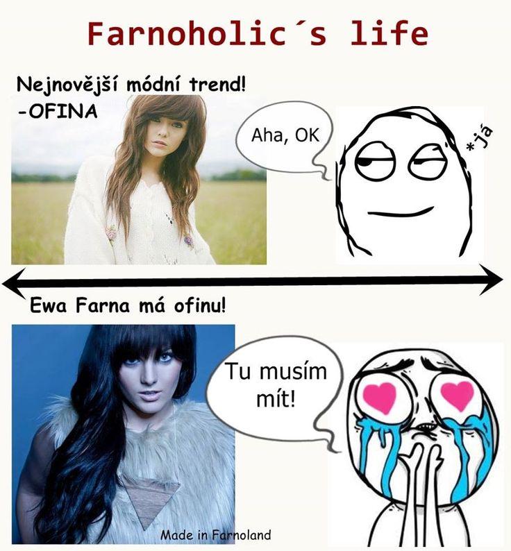 Ewa Farna ofina grzywka hair MEME