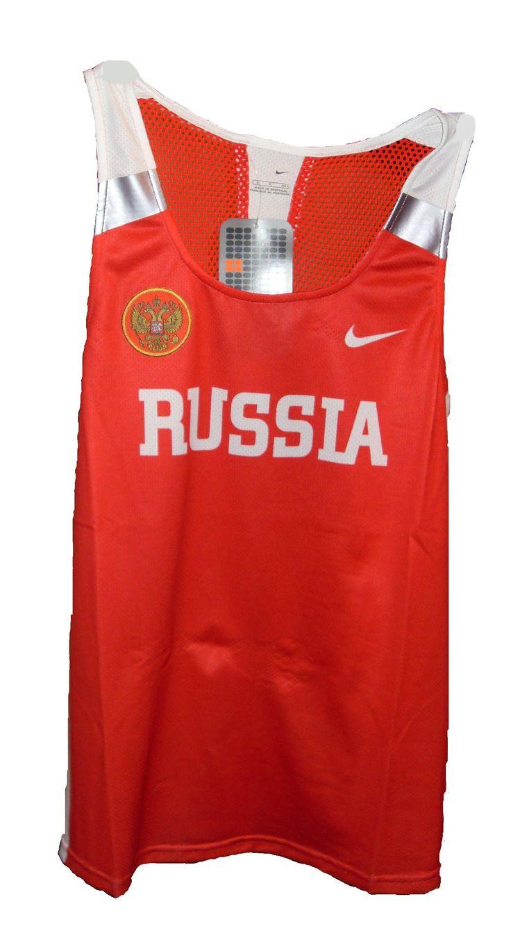 Спортивная форма для российских легкоатлетов от Nike