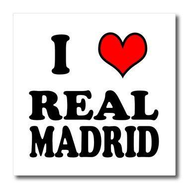 I love REAL MADRID.