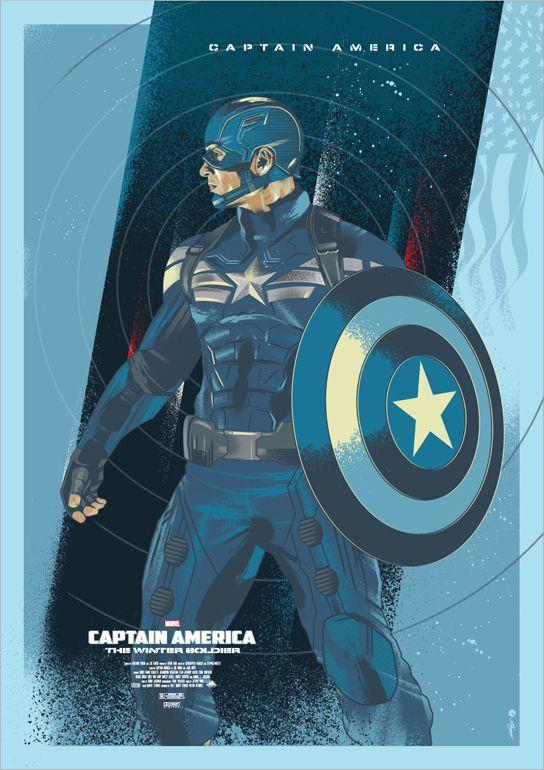 Captain America -Movie poster,©Marvel.