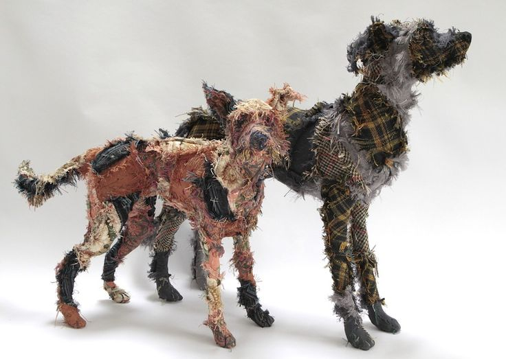 textile sculpture by Barbara Franc