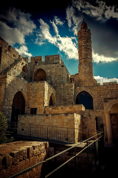 Thousand Years of History Tower of David Citadel, Jerusalem | by JoLoLong Source: Flickr / jololog