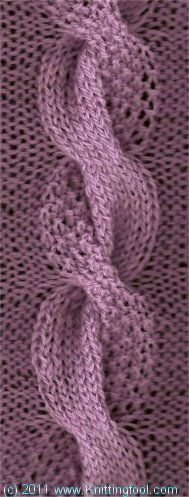 Dual Cable - Knittingfool Stitch Detail