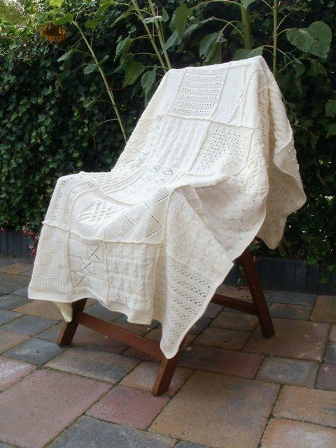 Fat-Quarter: Groninger blanket finished!