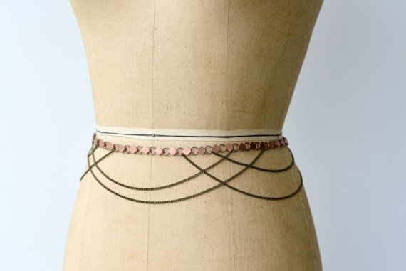 Circe Draped Chain Body Jewelry Belly Chain Belt by Dolorous
