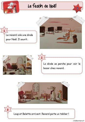 Le festin de Noël - Le petit cartable de Sanleane