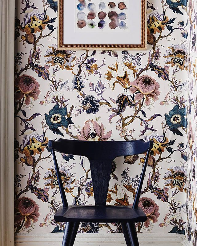 House of Hackney x William Morris Artemis Wallpaper, starting $298, Anthropologie.com