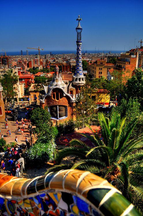 Park Güell - Barcelona - Spain (von Tony Shertila)