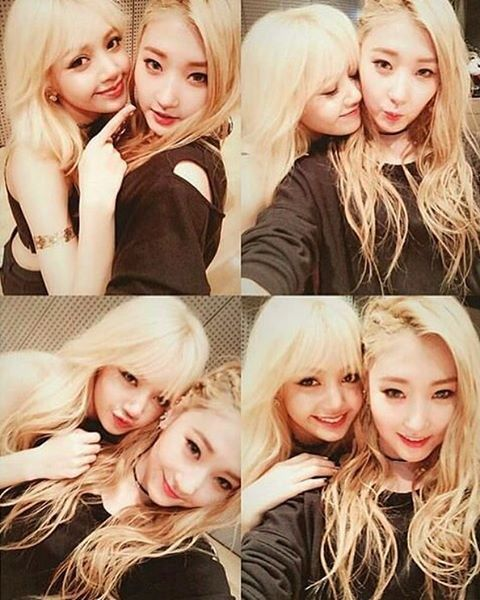 [UNSEEN] Pre debut picture Lisa with YG trainee Jinny Park