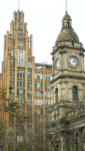 Manchester Unity Building - just one of the amazing pieces of architecture in Melbourne CBD