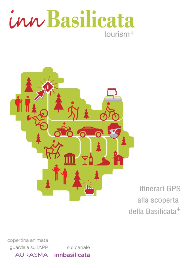 Augmented reality flyer  www.innbasilicata.it  gps paths service for tourism  promotion in Basilicata