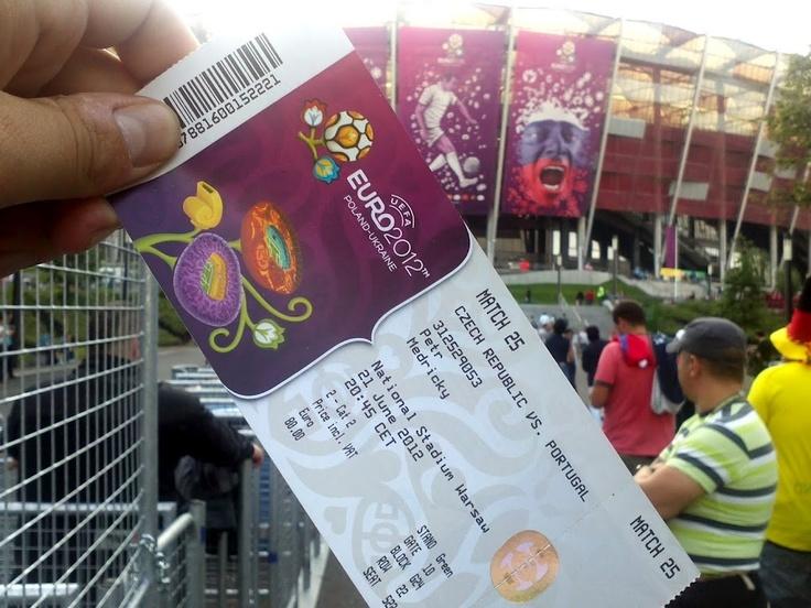CZE vs POR Warsaw EURO 2012 - June 21st 2012