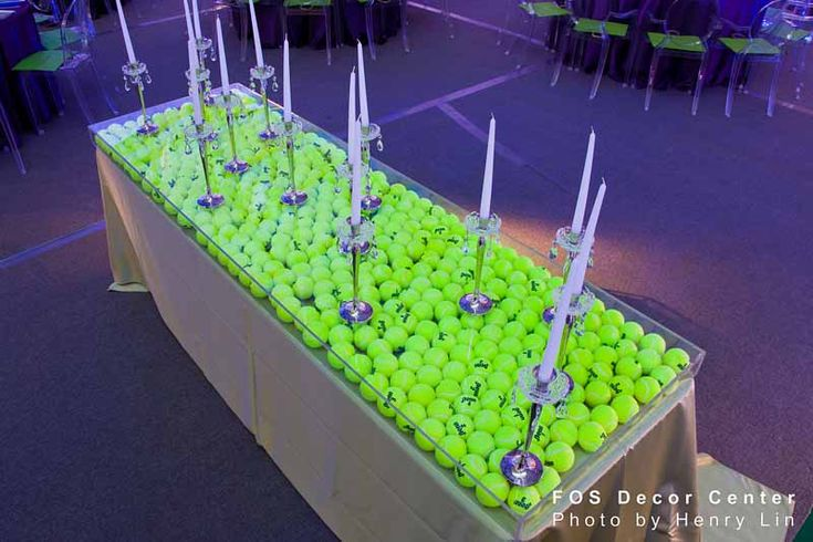 Tennis Themed party