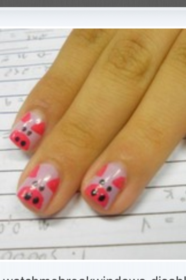 Three little piggies!!