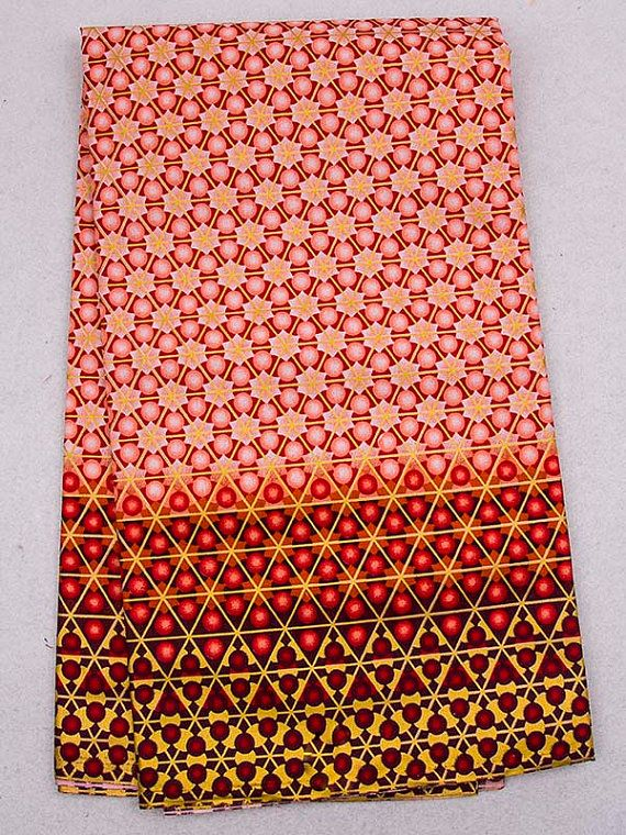Great pattern!  West African fabric