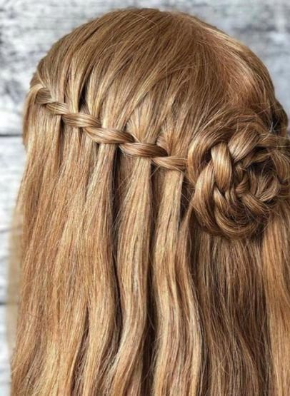 20 Stunning Waterfall Braiding Hairstyles #bobbraidshairstyles