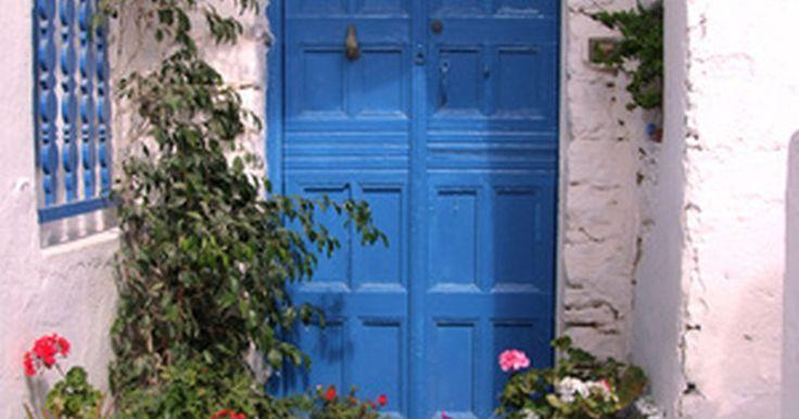 C mo pintar una puerta con pintura a base de aceite for Como pintar una puerta