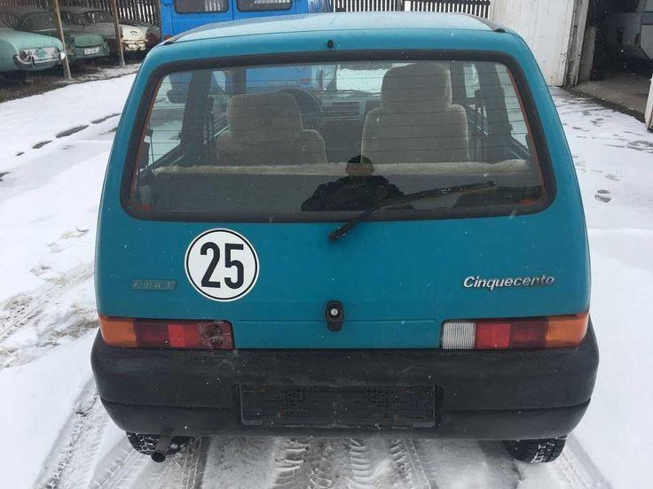 Fiat Cinquecento auf 25 km/h reduziert aus 1. Hand