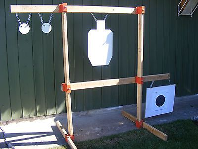 TommyGun Pistol Rack Kit Rifle Shooting Target AR500 Gong Stand Hang Steel DIY | Sporting Goods, Hunting, Range & Shooting Accessories | eBay!