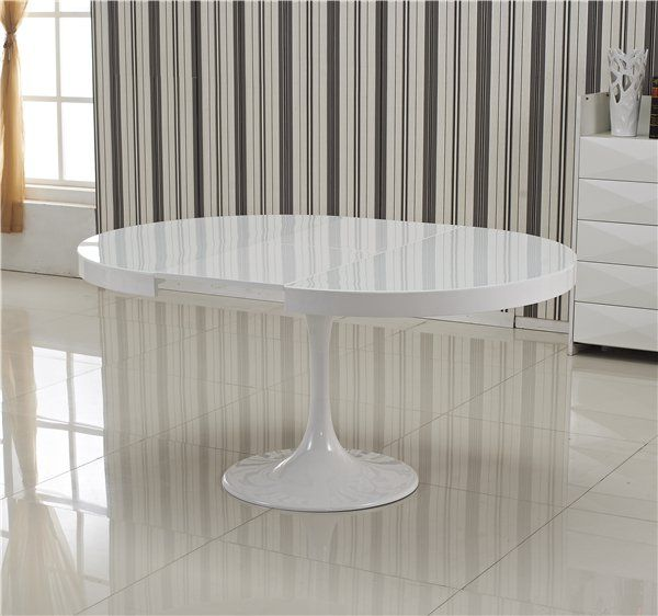 Les 25 meilleures id es de la cat gorie table ronde for Table ronde extensible blanche