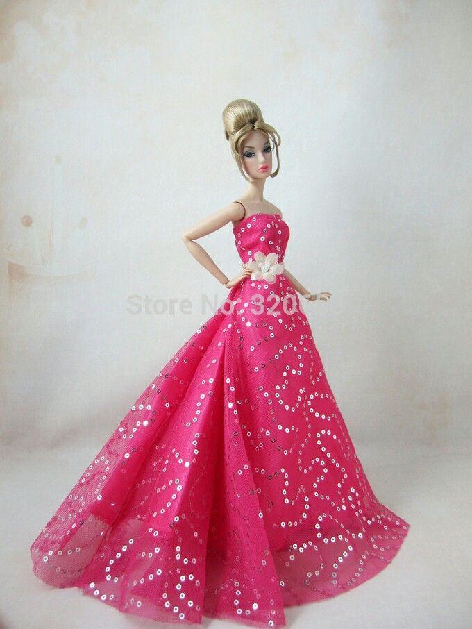 7 besten Barbie dolls and dresses Bilder auf Pinterest | Puppe ...
