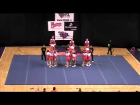 Mauldin High School Cheerleading 10-11 at STATE