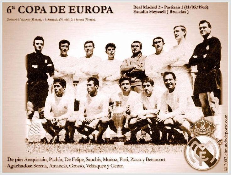 Blog sobre formaciones históricas de equipos de fútbol de todo el mundo