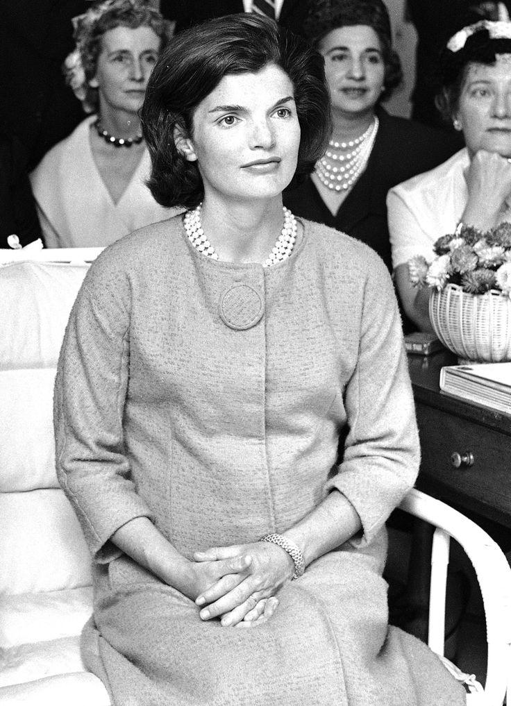 """thekennedyclan: """"1960, Jackie watching the Kennedy-Nixon debate """""""
