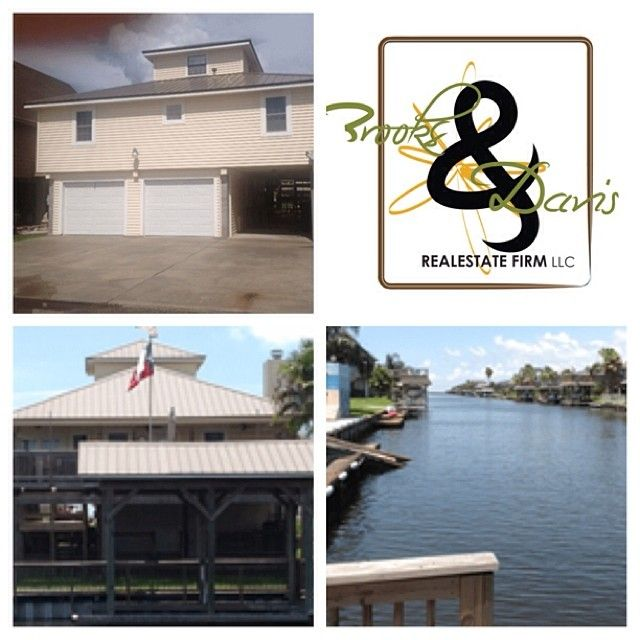 Price: $250,000 Key Features • 1.5 story 3 bedroom 2.5 bath 2 car. 1453 sq ft beautiful home in side and out , that sit off the canal over looking the water, a must see. Links: http://www.LarryWBrooks.com/  Brooks & Davis Real Estate Firm, LLC 713.665.8329 | 281.924.4954