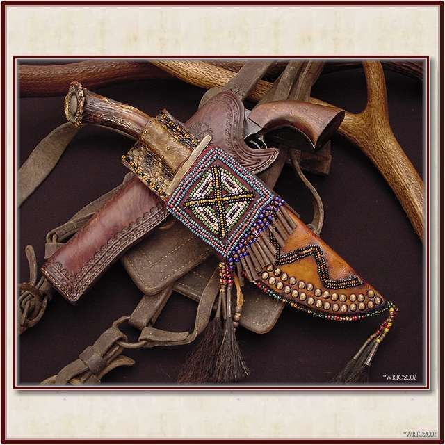 Knife and sheath from Wild Rose Trading Co.