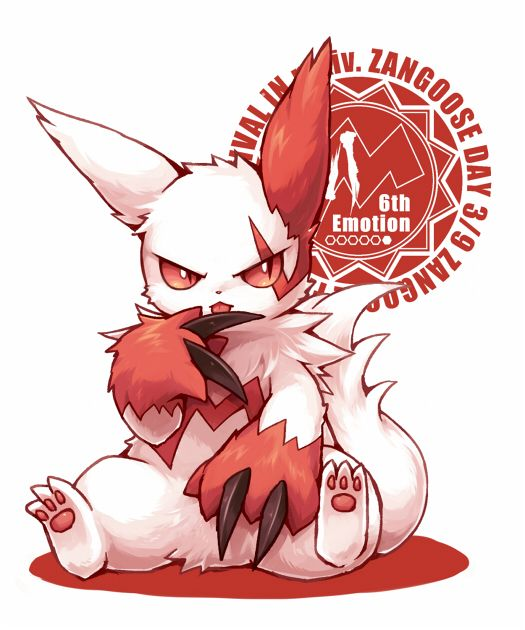 Image result for Zangoose pinterest