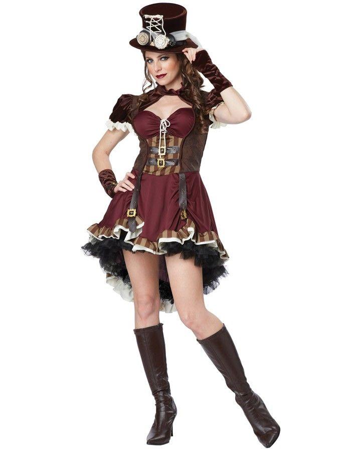Steampunk Girl Womens Costume