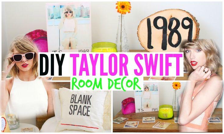 DIY Taylor Swift Room Decor ♡ Cheap + Simple!
