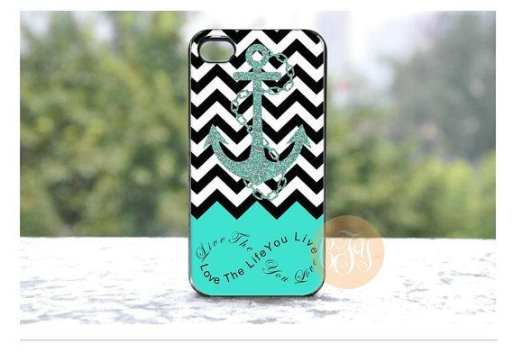 Buy 1 Free 1 ----Turquoise Black White iphone 4 4S iphone 5 c 5 5 s case cover Samsung galaxy note 3,s 4 , S3 case, note 2 case,htc ,S 2