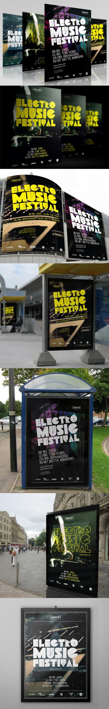 Poster // EMUS // Electronic Music Festival