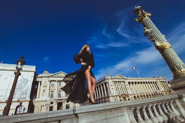 Фотограф в Париже