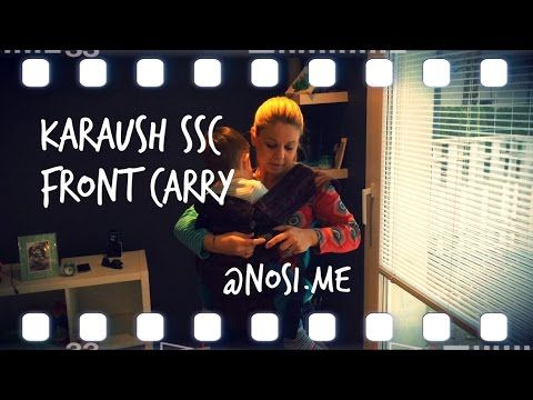 Karaush baby carrier, front carry